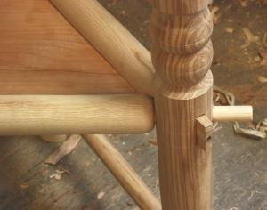 seat rails\' joinery