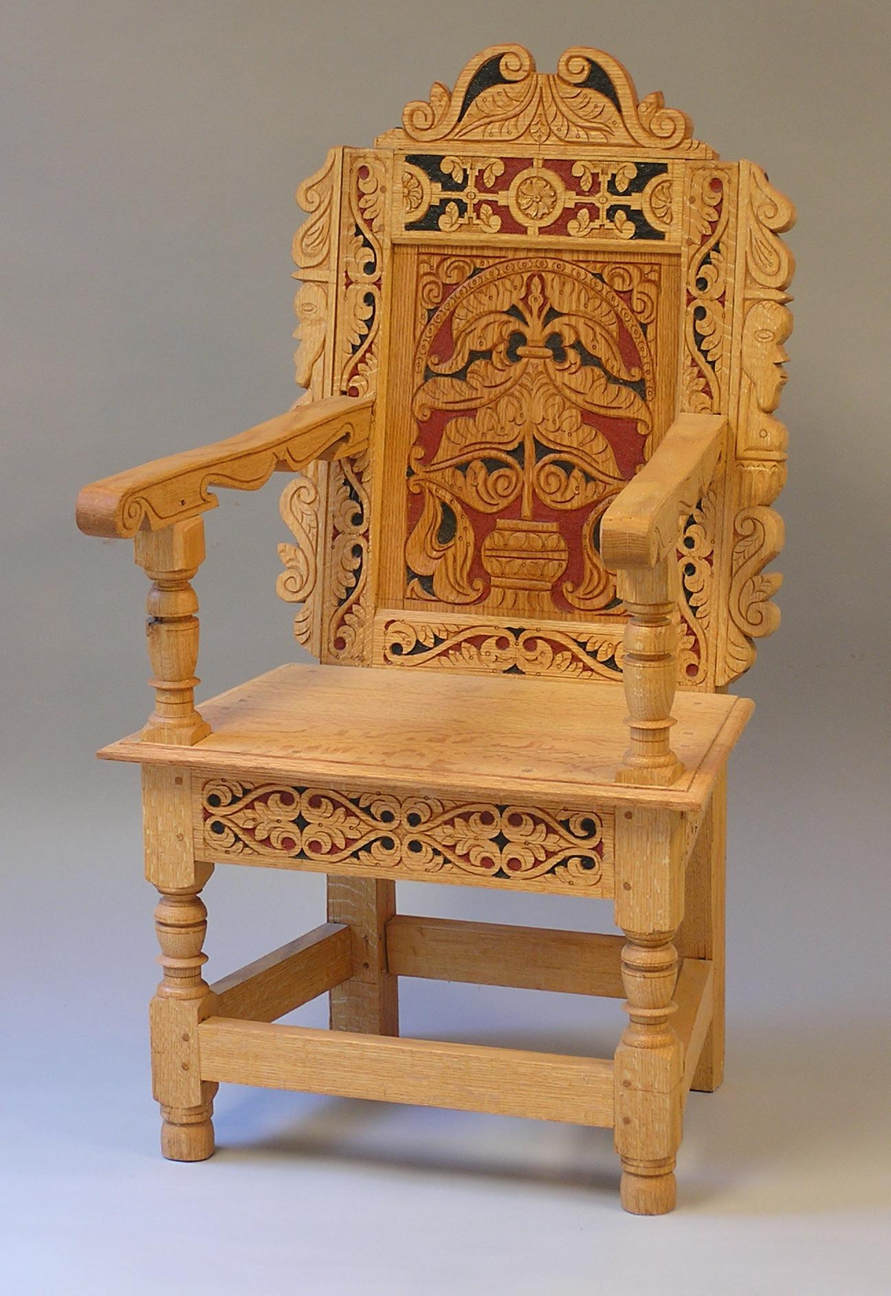 Wonderful Wainscot Chair