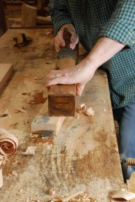 planing against bench hook