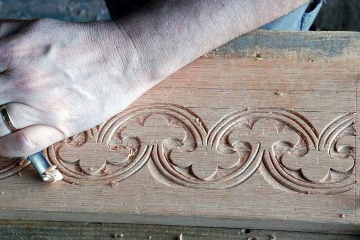 carving a box front