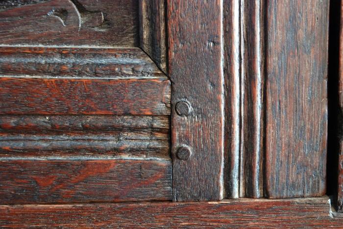 mortise & tenon, w integral mitered molding