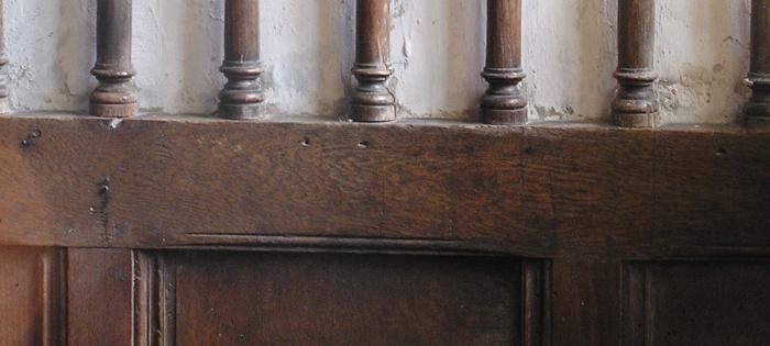 molding above panels