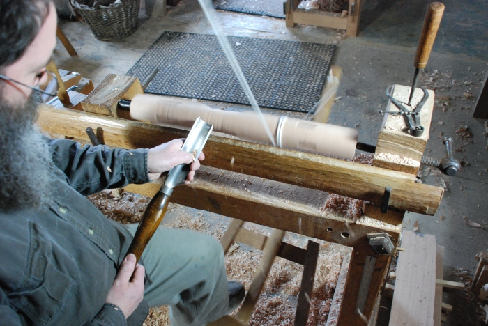 roughing cylinder with gouge