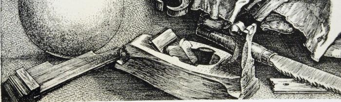 A. Durer, Melancolia I, detail, 1514