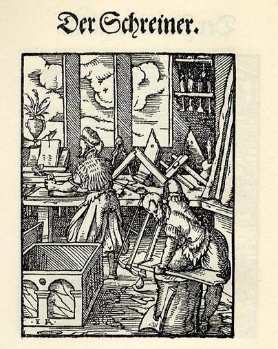 Jost Ammon Der Schreiner 1568