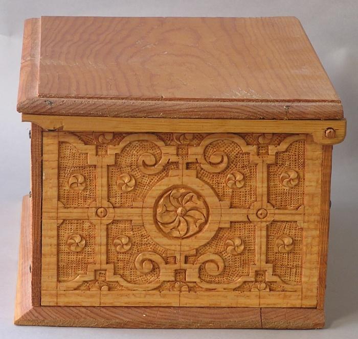 PF box, side view