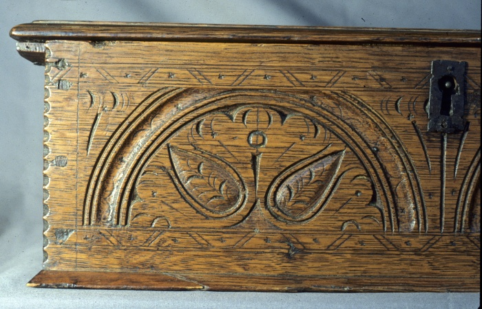 carved box, John Savell 1642-1687