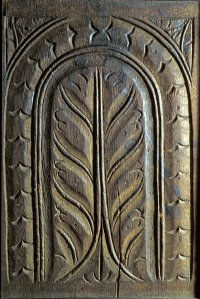 door panel, attributed to William Savell, Sr.
