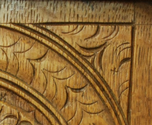 John Savell, spandrel detail
