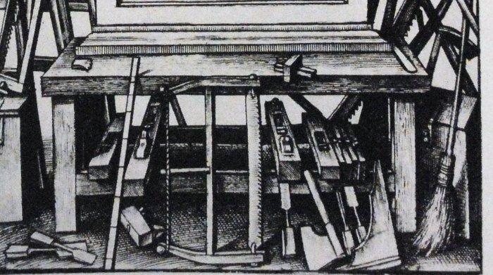 Wierix, workbench detail