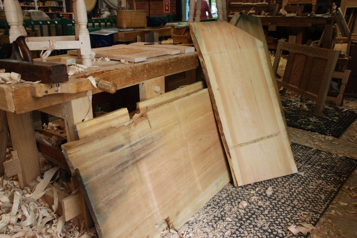 new pine boards