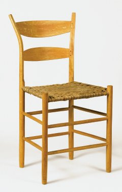 Alexander's post-and-rung chair