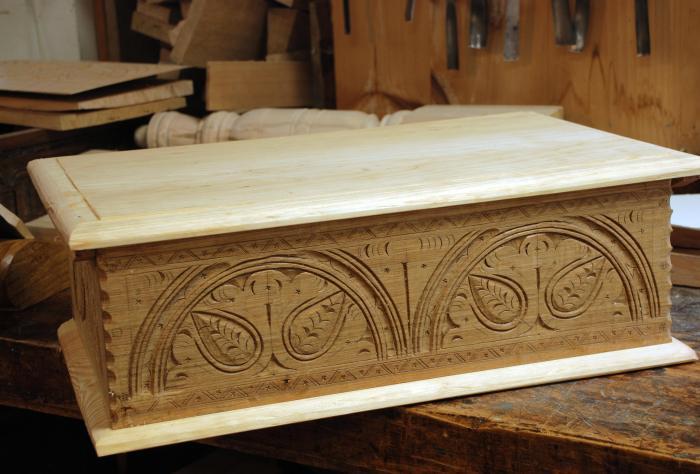 newest white oak box