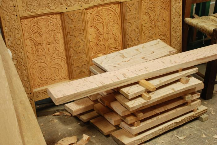 new stock of oak boards
