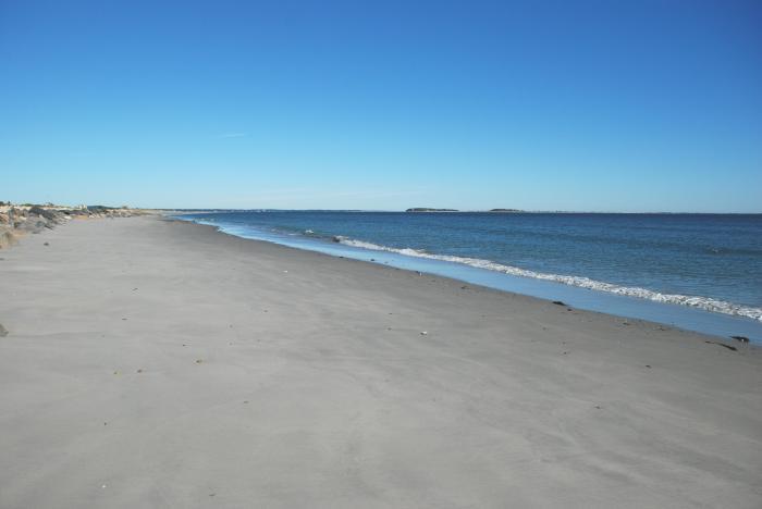 perfect morning at Plymouth beach