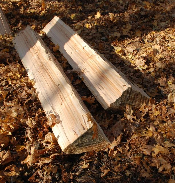 Diy cedar log furniture tools wooden pdf porch swing for Log swing plans