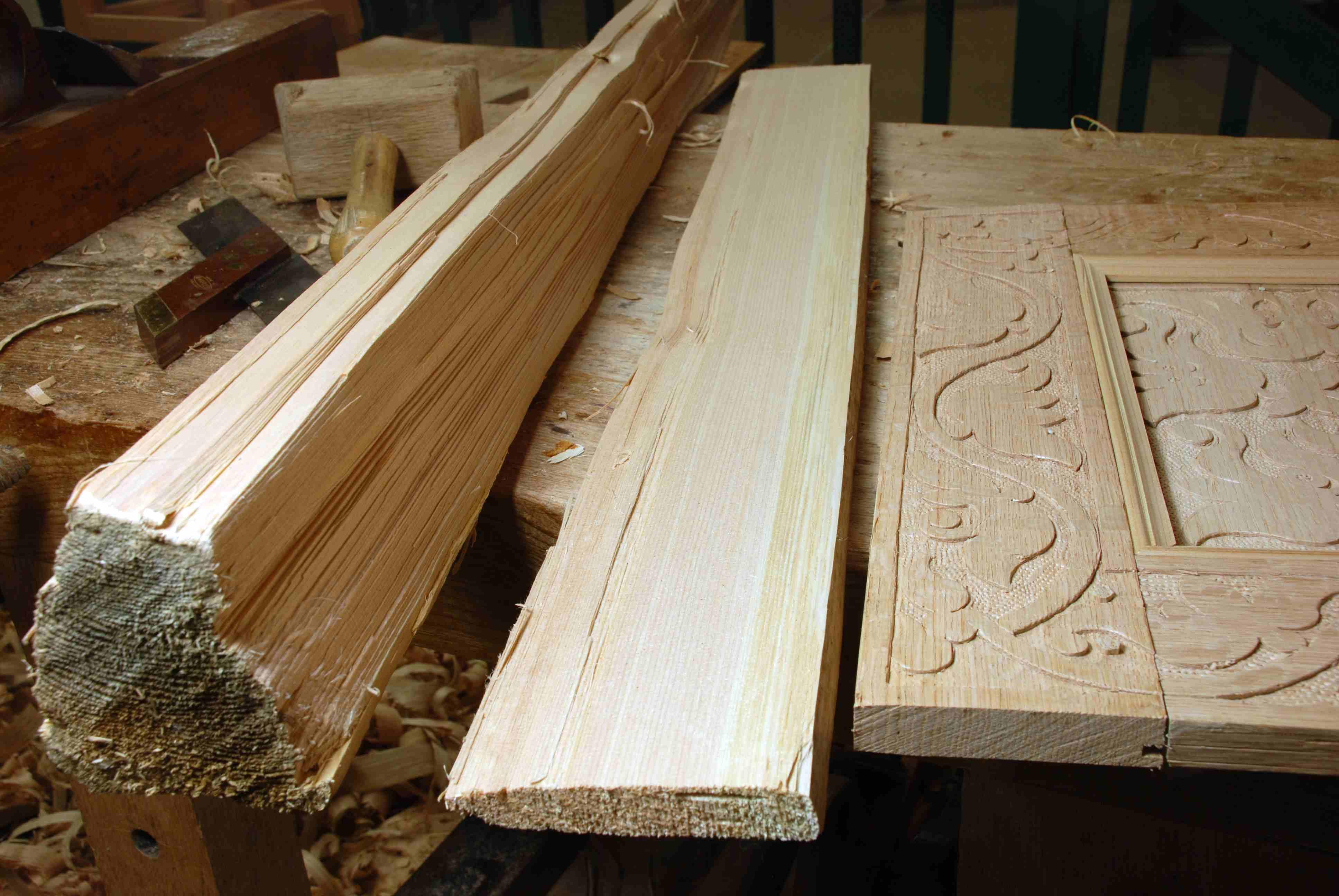 Atlantic white cedar moldings peter follansbee joiner s