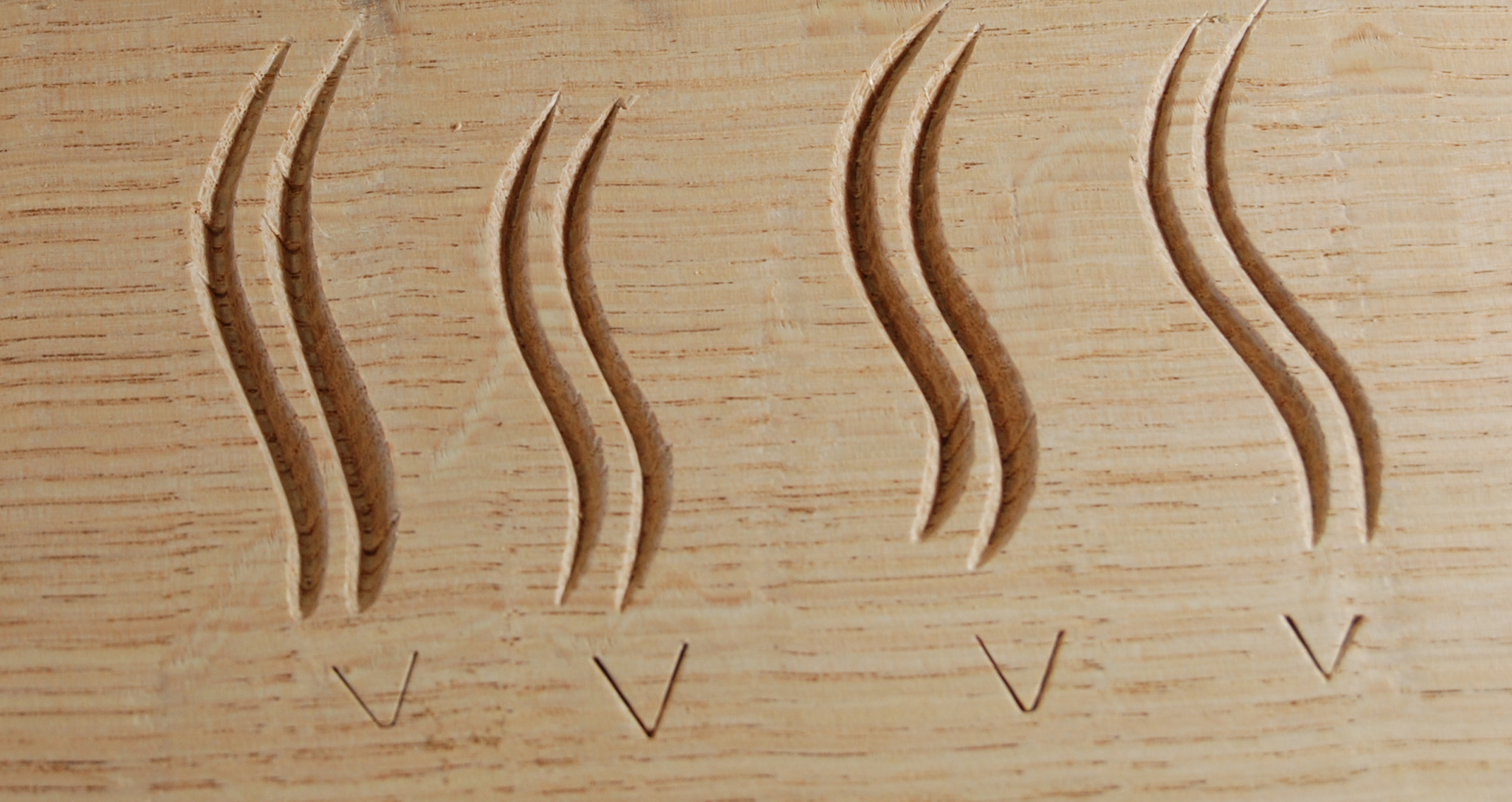 small wood carving tools