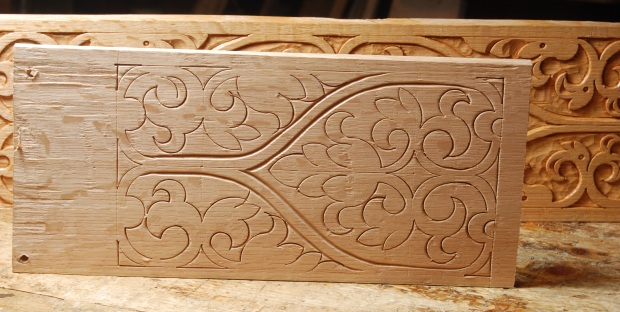 Pattern floral relief carving patterns