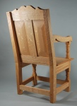 Lincoln chair, rear view