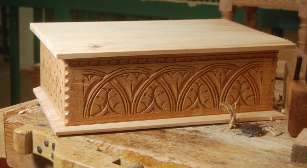 new carved box