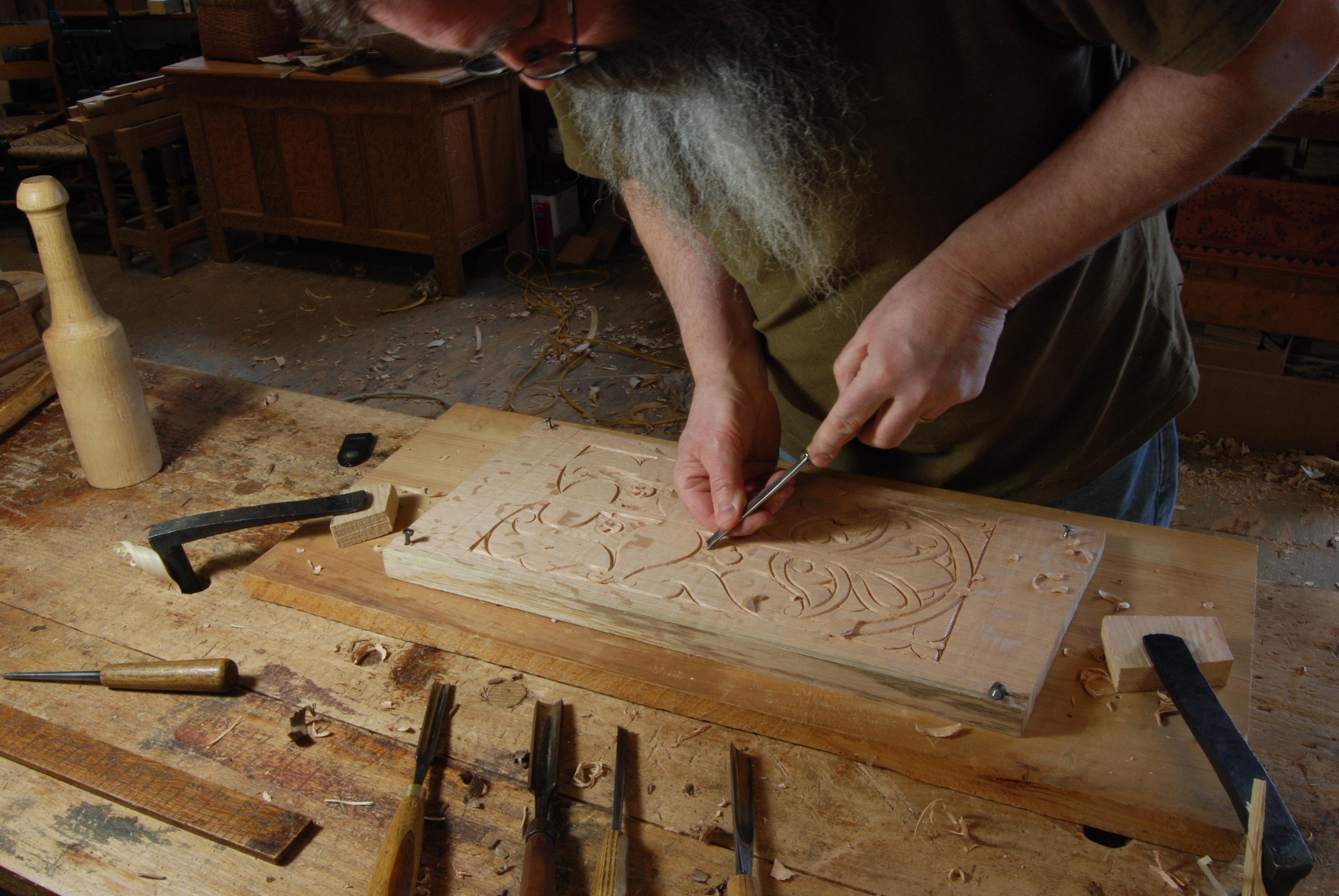 Decoy carving bench plans
