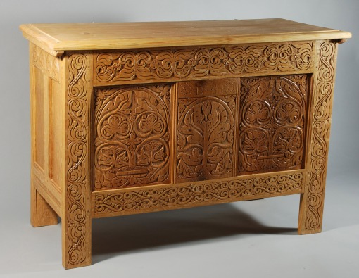 white oak chest 2009