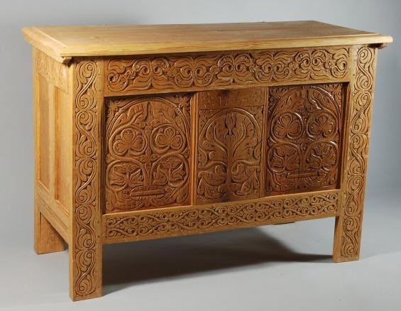 white oak chest 2009