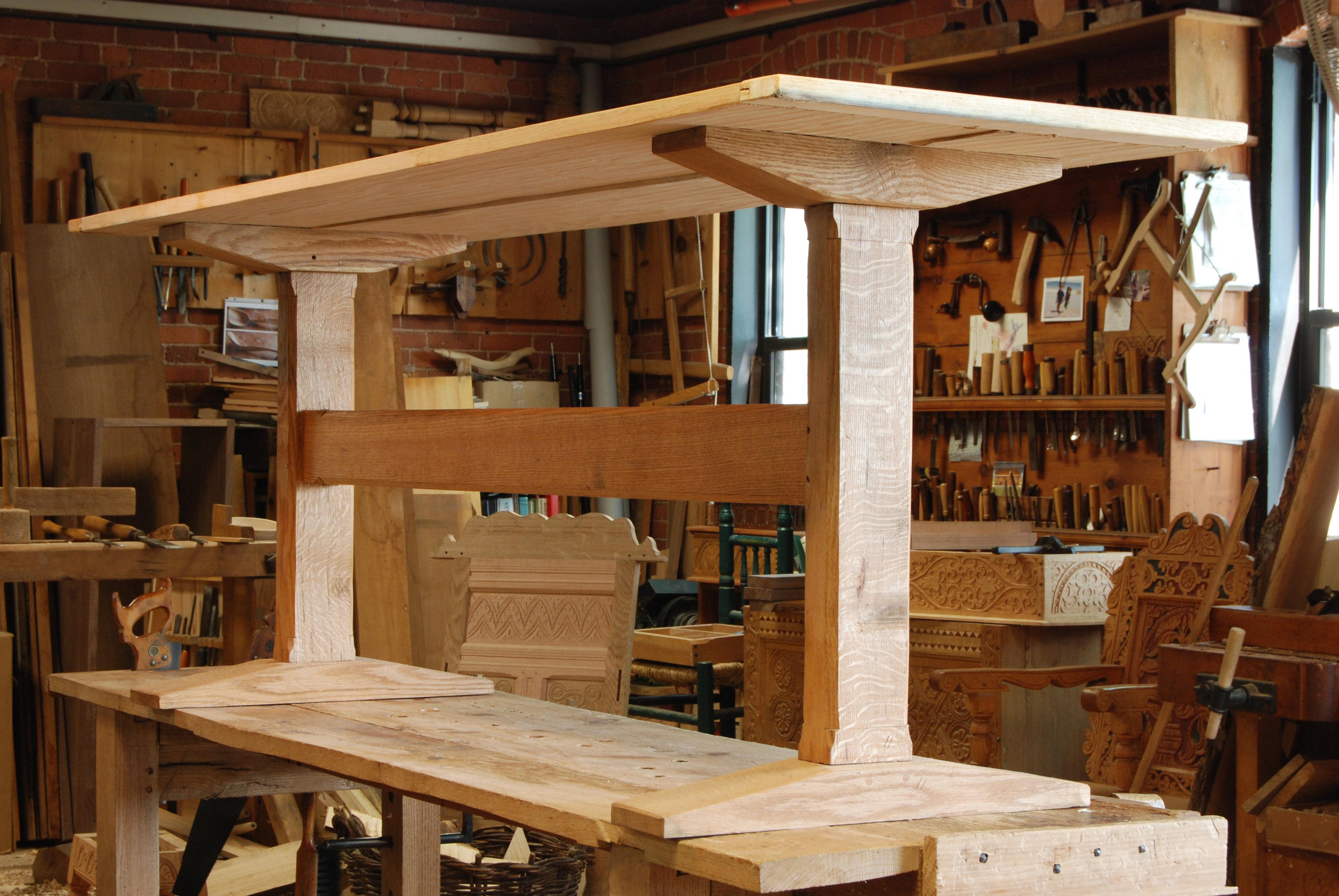 Trestle Table Bench Plans