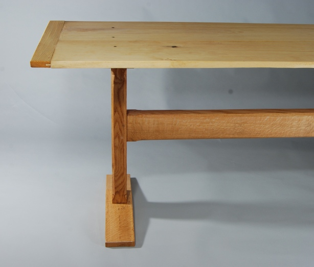 trestle table bench plans