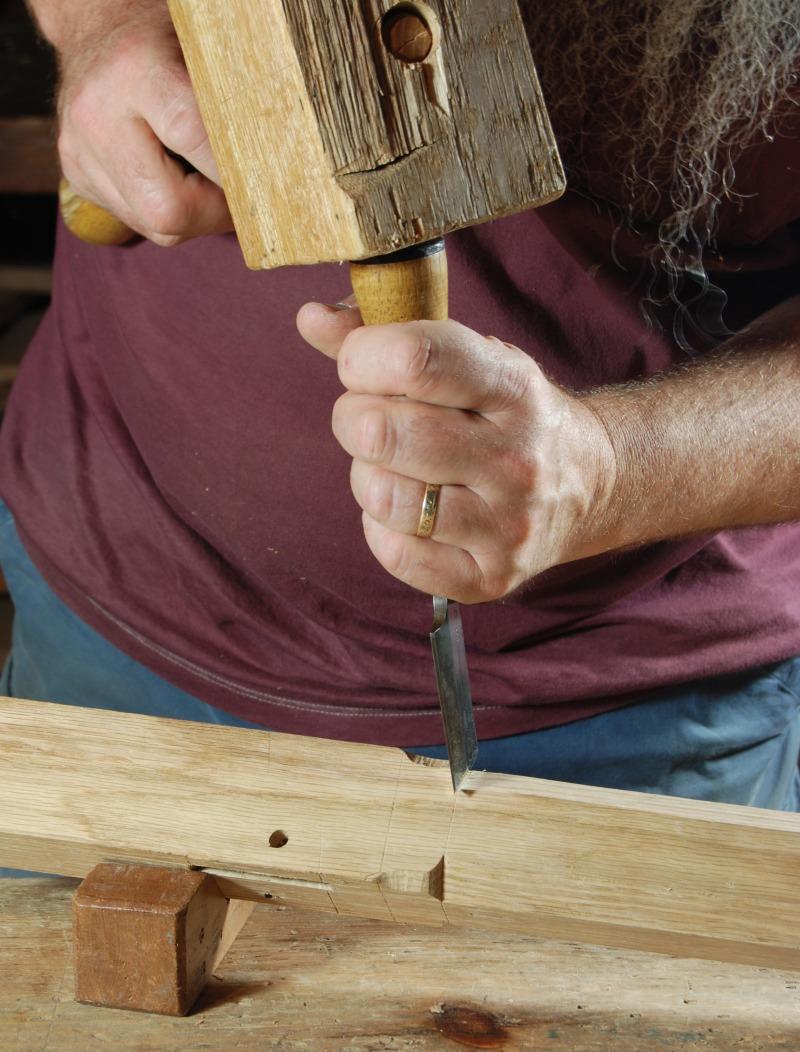 chisel wood