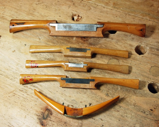 old woodworking planes