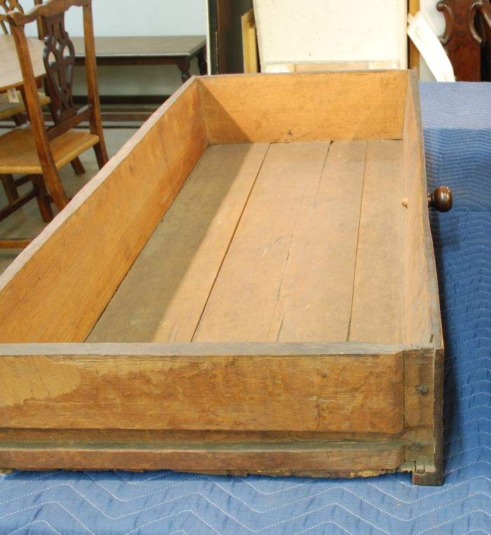 oak clapboard drawer bottoms