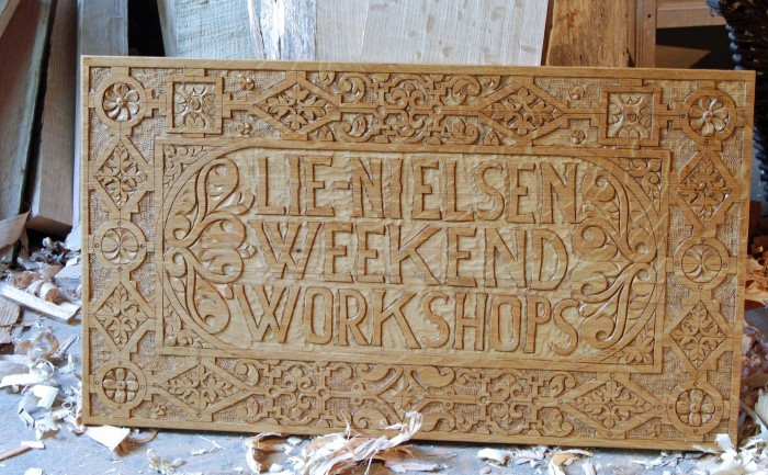 Lie-Nielsen Weekend Workshops