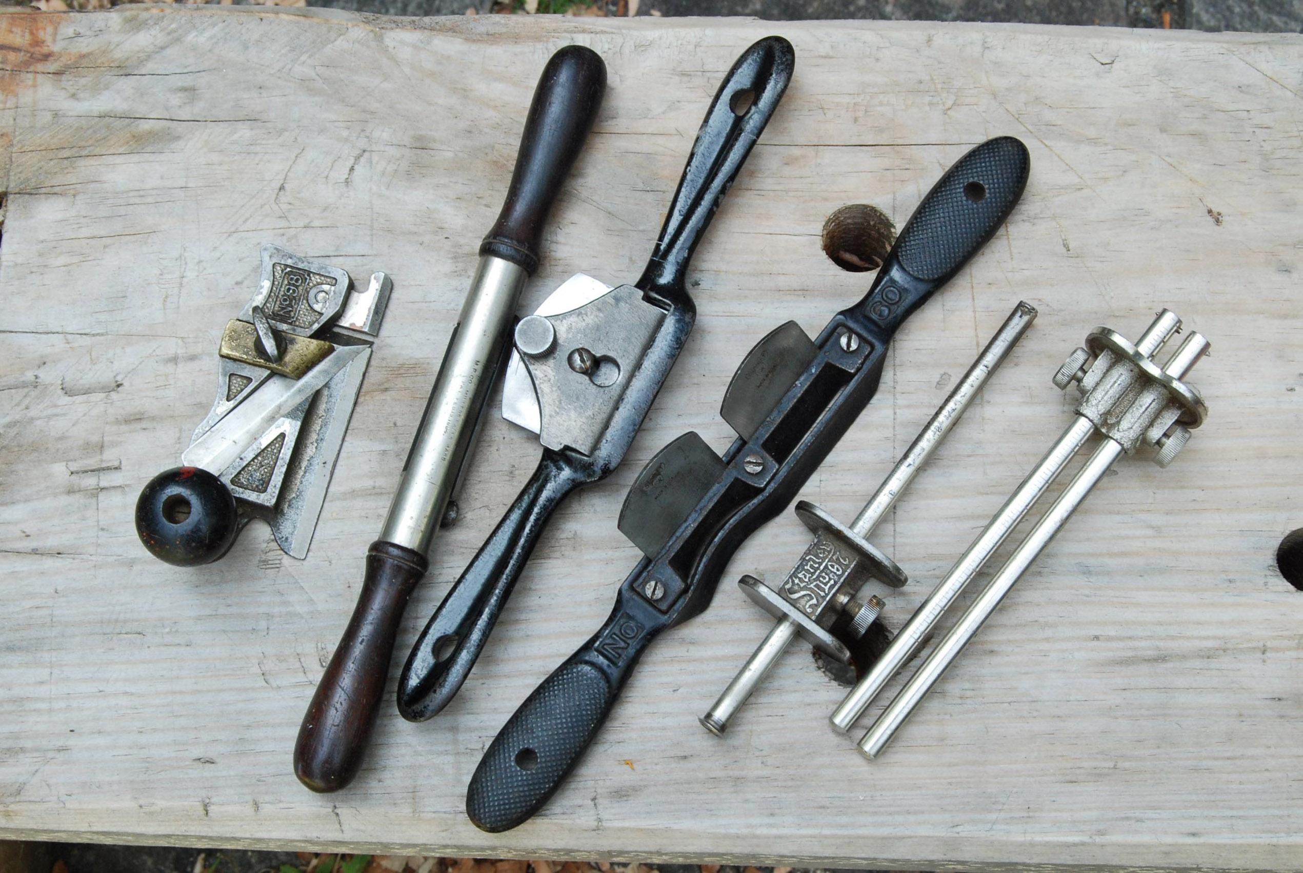 stanley woodworking tools