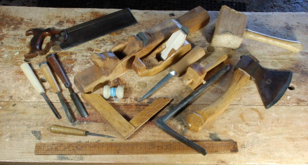 woodwork hand tools