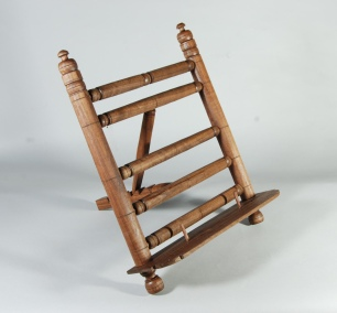 walnut book stand