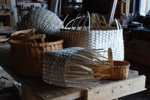 baskets old & new