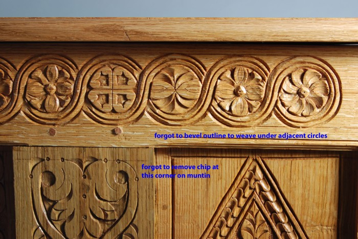 carving details picked out