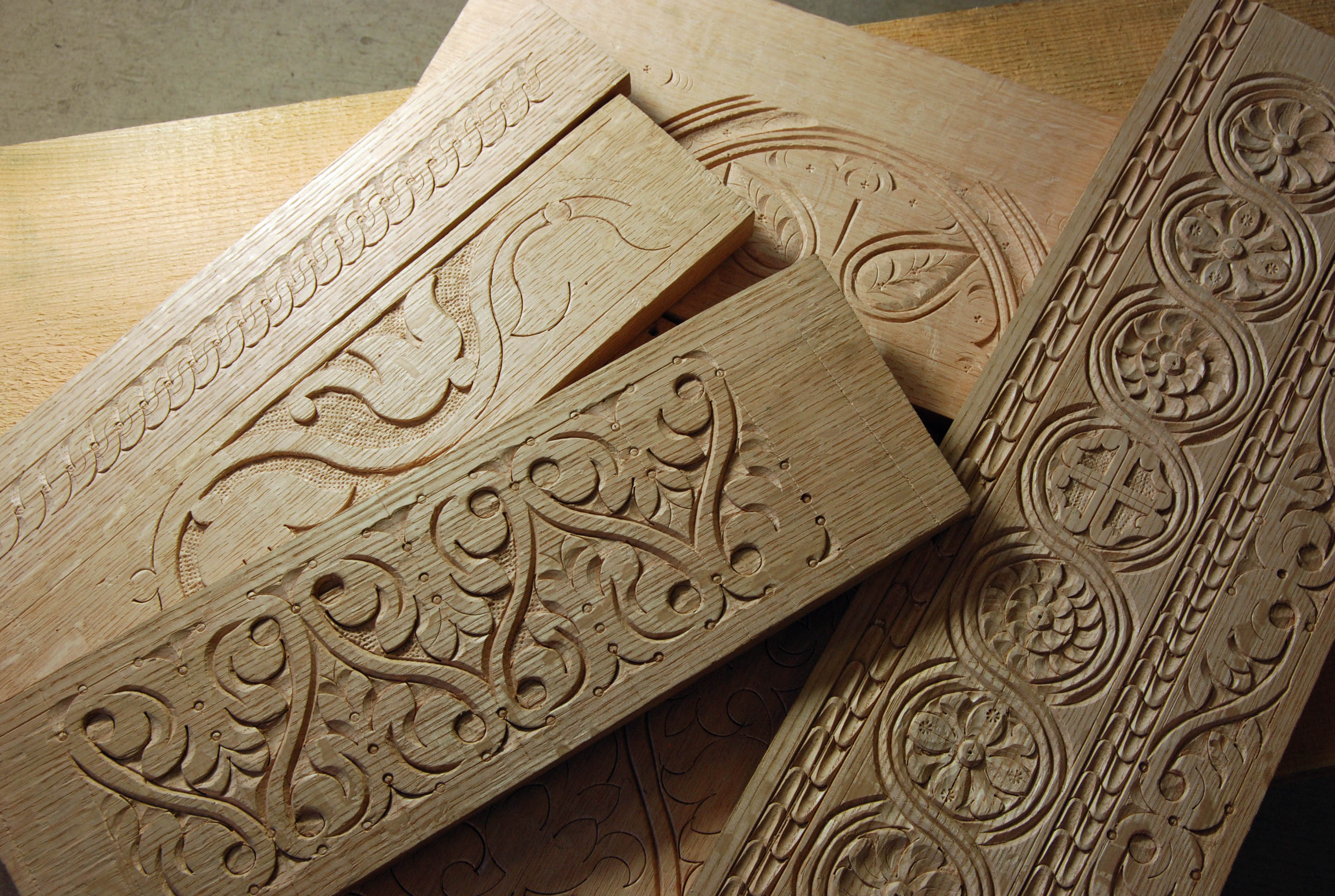 Th century carving workshop feb  at