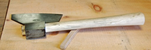 "the ""other"" Fuchs hatchet"