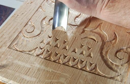 gouge-cut details