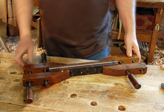 glue up EI rosewood