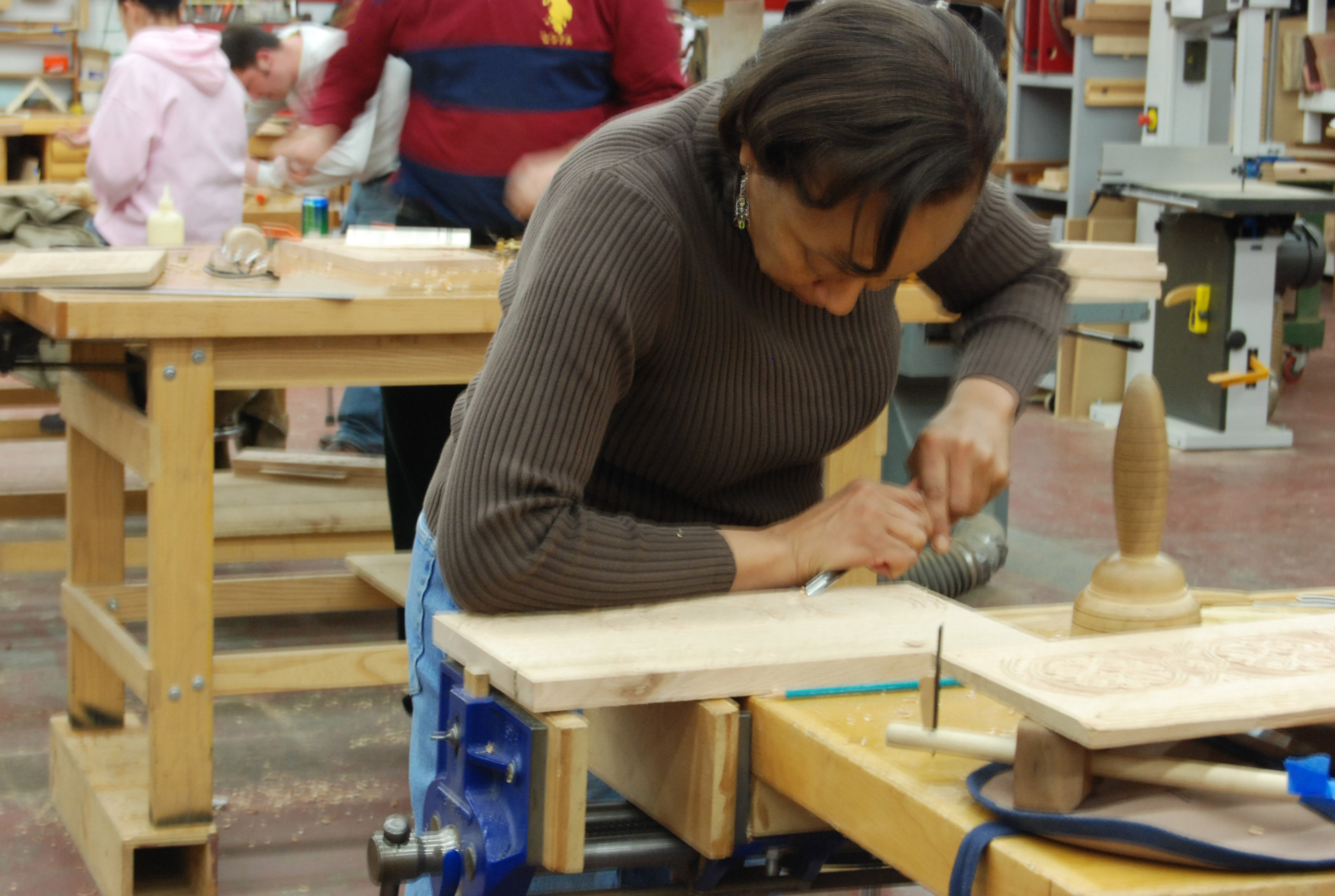 Carving Class Sept 14 15 Connecticut Valley School Of Woodworking
