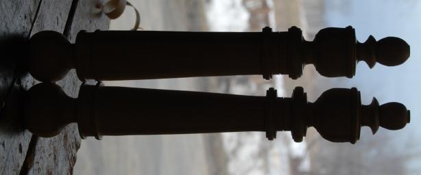 make wooden vase lathe
