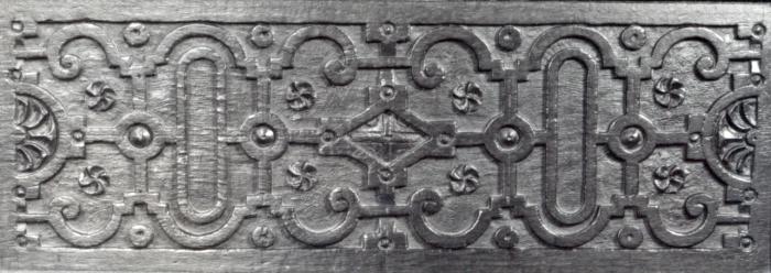 strapwork panel