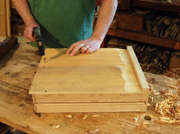 nailing drawer bottom