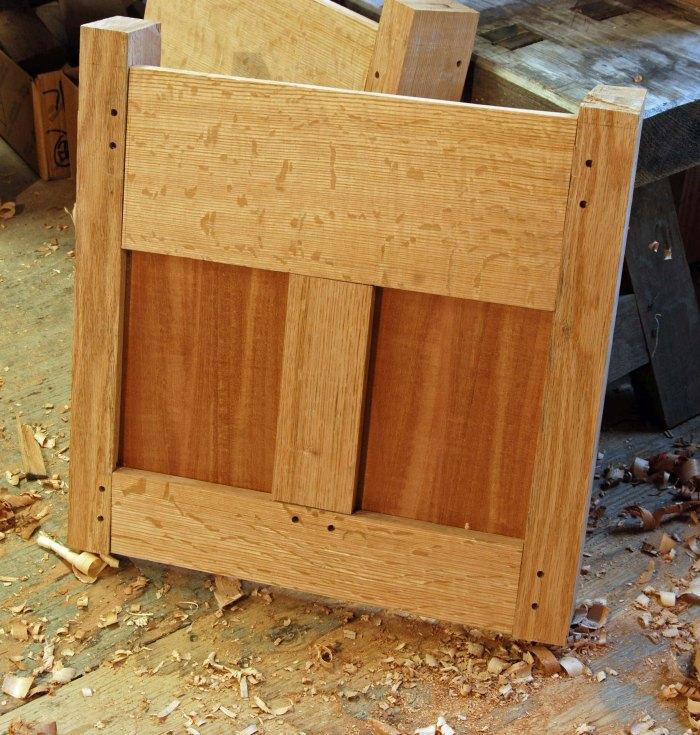upper case side frame & panels
