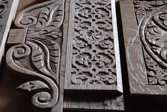 chair carvings