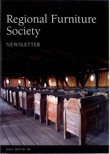 Regional Furniture Society newsletter